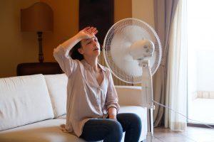 woman-before-fan-in-house